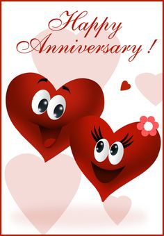 Free Printable Happy Anniversary Greeting Card