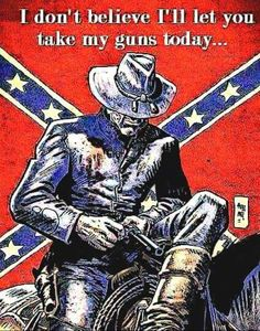 I don't believe I'll let you take my guns today