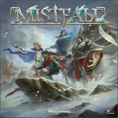 BoardGameBuds' Review of Mistfall, the card-based tactical RPG quest game - choose your heroes and customize their powers to help them survive the mists!