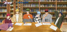 Kuroko no Basket: so midorima is a leftie? Hot Anime Boy, All Anime, Anime Guys, Haikyuu, Kuroko No Basket Characters, Desenhos Love, Kiseki No Sedai, Akashi Seijuro, Akakuro