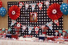 4th Birthday Train Party     Kara's Party IdeasKara's Party Ideas