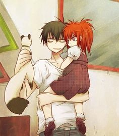 blood lad, staz, and liz k WHY IS STAZ SO CUTE? >-< <33