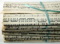 Music sheet wrapping