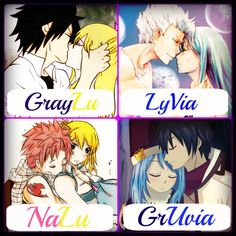 Thank you someone for putting more than just Gruvia and Nalu!