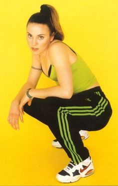 Radikal Records - #Throwback to #MelanieC's #SpiceGirls days as the kickass #SportySpice! #music #melc #yellow #green #black #colorful https://itunes.apple.com/ca/album/loving-you-single/id687886988