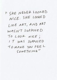 This quote is the reason I read eleanor and park. Best decision of my life. This quote is the reason I read eleanor and park. Best decision of my life. Pretty Words, Beautiful Words, Cool Words, Ballet Beautiful, How To Be Beautiful, She Is Beautiful Quotes, Something Beautiful, Beautiful Pictures, Words Quotes