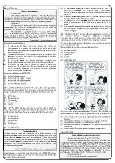 Questoes De Lingua Portuguesa Com Gabarito Com Imagens Lingua