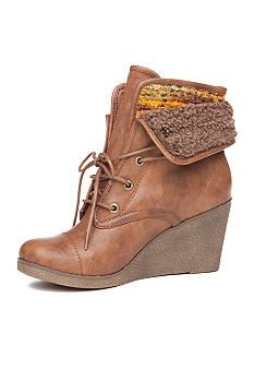 Rock and Candy by ZiGi Sabra Wedge Bootie - Belk.com