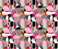 Danish Modern fabric by joanmclemore on Spoonflower - custom fabric