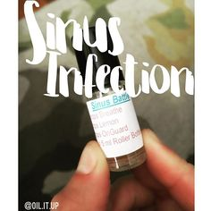 """My son had a cold, which passed on to me. Luckily my """"cold and flu bomb"""" got rid of his cold, but mine just turned into a #sinusinfection .....happy Friday?  Thank goodness for oils though, I've been applying this to my sinus areas, on my forehead and bottoms of feet. If your in the same boat as me, combine 10 drops of Breathe, 5 drops of Lemon and 5 drops of OnGuard. Top it all off with some FCO-and your good to go! #rollerbottleblends #doterra #doterraoils #essentialoils #diyhealth #di..."""