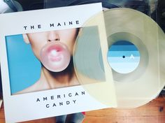 The Maine  American Candy  Glow in the dark vinyl