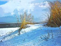 'Ostfriesischer Inselwinter' von Dirk h. Wendt bei artflakes.com als Poster oder Kunstdruck $18.03