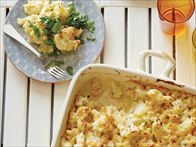 Get this all-star, easy-to-follow Cauliflower Mac N Cheese recipe from Rachael Ray