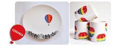 DIY-cerámica http://idoproyect.com/blog/patrones-que-nos-inspiran-globos-aerostaticos/