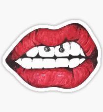 TUMBLR lips Pegatina