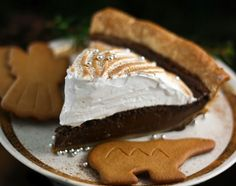 getting ready for the fall already: gingerbread pie!