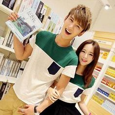 Buy 'Evolu – Short-Sleeve Color-Block Couple T-Shirt' with Free International Shipping at YesStyle.com. Browse and shop for thousands of Asian fashion items from China and more!