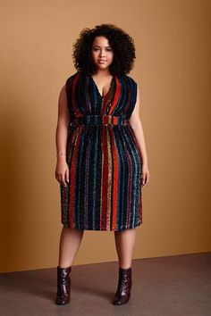 Gabi Fresh announces she is the new face of ASOS Curve fall 2015 look book and we want every piece in it. Big Size Dress, Plus Size Dresses, Plus Size Outfits, Curvy Fashion, Plus Size Fashion, Girl Fashion, Womens Fashion, Fashion 2018, Xl Mode