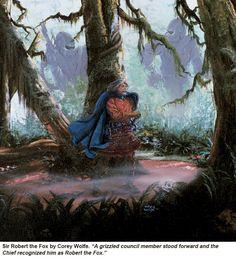 "Battlefield Earth, ""Sir Robert the Fox"" http://battlefieldearth.com/art-gallery/ @BE_the_Book #AwesomeTeam☮pls share & like♥"