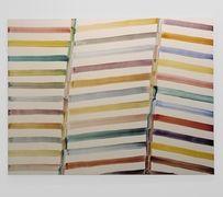 Bernard Frize, Ouverture, 1998, Painting acrylic on canvas, 185 x 232,5 cm