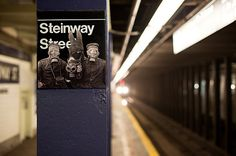 Astoria, Queens, NY.  steinway