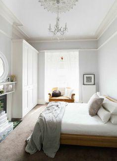 light gray bedroom | light grey bedroom | Dream Spaces