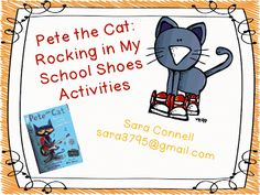 On pinterest pete the cats school shoes and kindergarten crayons