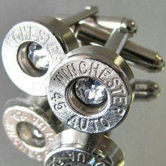 The Original Bullet Varieties Bullet Earrings and Cufflinks Great Christmas Gifts!!!