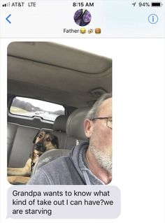 Dog's Day Out with Granddad Goes Viral with Heartmelting Photos