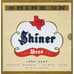 Shiner Beer (EEUU)