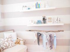 Good streifenmuster grau dekoration im babyzimmer zum selbermachen Mehr