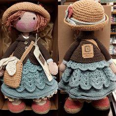 Mesmerizing Crochet an Amigurumi Rabbit Ideas. Lovely Crochet an Amigurumi Rabbit Ideas. Crochet Dolls Free Patterns, Crochet Doll Pattern, Amigurumi Patterns, Amigurumi Doll, Amigurumi Tutorial, Crochet Designs, Crochet Teddy, Cute Crochet, Knit Crochet