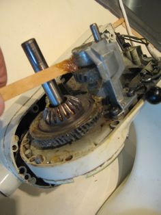 Cleaning and Greasing your KitchenAid Mixer