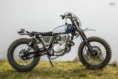 Peace Scrambler: A Suzuki TU250 Grasstracker by Heiwa | Bike EXIF Moto Enduro, Yamaha Motorcycles, Scrambler Motorcycle, Custom Motorcycles, Custom Bikes, Motocross, Bultaco Mercurio, Hors Route, Street Scrambler