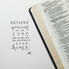 """""""H E A R T M A T T E R // I've always read this verse and thought: """"Okay, so if I love God and delight in Him, as a reward, He will give me what I want.""""…"""""""
