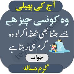 Riddles in Urdu for Kids with Answers 2020 Tough Riddles, Riddles With Answers, Funny Puzzles, Chai Quotes, Sajjal Ali, Urdu Funny Poetry, Knowledge Quiz, Islamic Love Quotes, Jokes Quotes