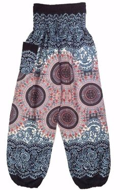Key Features: - High quality, light weight and durable - Premium ladies baggy trousers are completely handmade using the best quality Rayon fabric 100% - The smocked waist and baggy legs would draw al