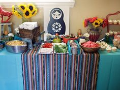 Russian doll themed party