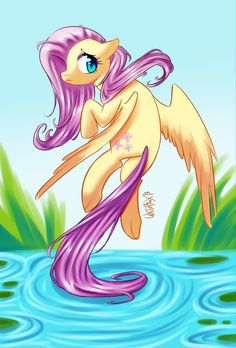 Fluttershy by WhitePhox on deviantART