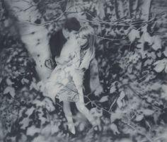 Gerhard Richter, Liebespaar im Wald (Lovers in the Forest) 1966, 170 cm x 200 cm, Oil on canvas