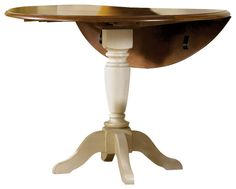 Liberty Furniture Low Country Sand 42 Inch Round Drop Leaf Pedestal Table    Dining Tables   By EFurniture Mart