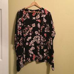 H&M Kimono Black H&M Kimono with cherry blossom print. 100% Rayon H&M Intimates & Sleepwear