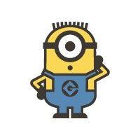 Minion Carl Sticker - 31006