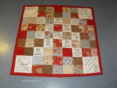 how to make a quilt using bible verse - Google Search