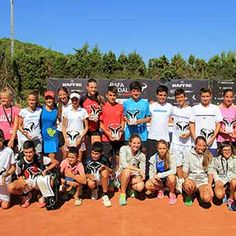 Master Rafa Nadal Tour participants by MAPFRE