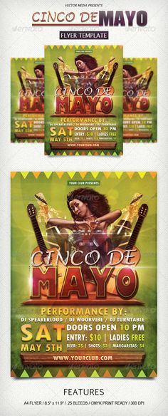 Cinco De Mayo - Flyer