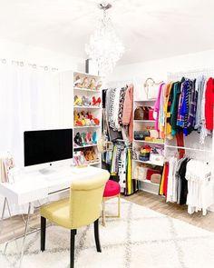Master Bedroom Closet, Dream Bedroom, Closet Turned Office, Boutique Decor, Closet Remodel, Beauty Room, New Room, My Dream Home, Home Decor Inspiration