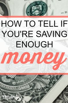 The majority of Americans don't have enough money saved for a $400 emergency. Here's how you can make sure you're saving enough money. http://www.amandaabella.com/podcast3/