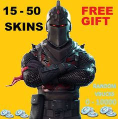 Fortnite Account 15 - 50 Skins *Bonus Free Account Per Purchase* (LImited Time) Free Xbox One, Xbox One Pc, Ps4 Hacks, Save The World, Ps4 Exclusives, Free Pc Games, Epic Games Fortnite, Pc Ps4, Free Gift Cards