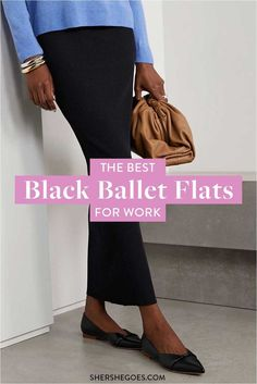 ballet flats will never go out of style. they're chic, they're comfortable and they match anything in your wardrobe. here are the best black ballet flats to shop now #balletflats #balletshoes #flats #classicshoes #womensshoes #amazonfinds Black Ballet Flats, Ballet Shoes, Best Black, Out Of Style, Going Out, Shop Now, Good Things, Chic, Stylish